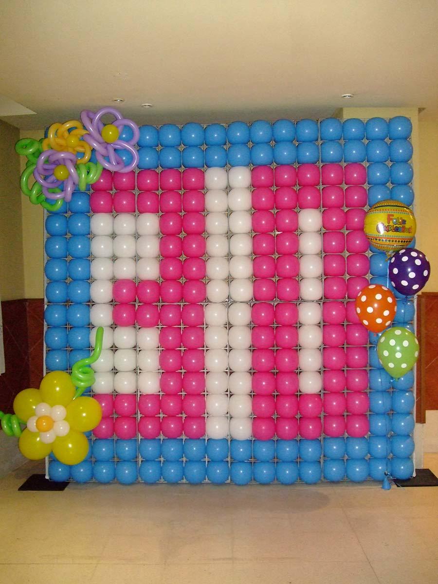 M s que globos - Photocall cumpleanos 18 anos ...