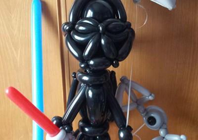El lado oscuro. Centro de globos Darth Vader.