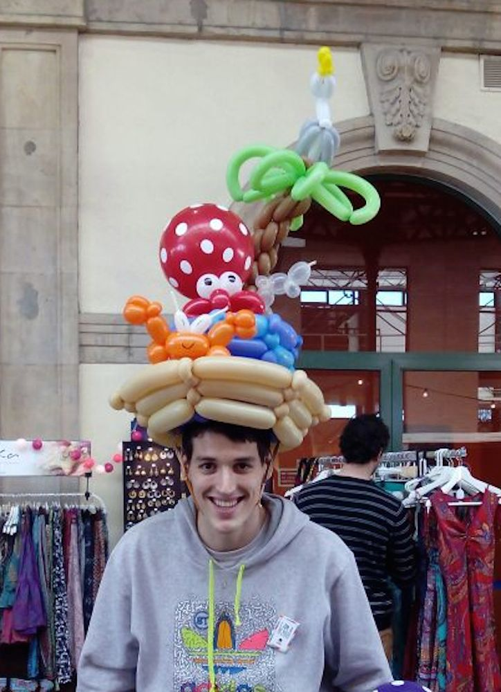 Mercado del Ferrocarril. Sombrero marino.